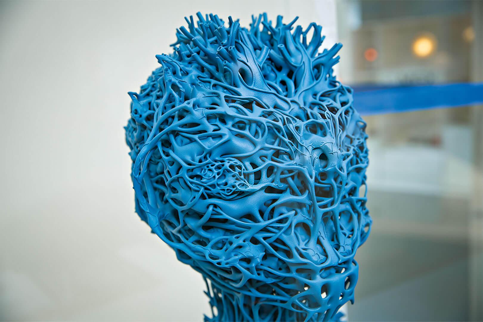 """Nick Ervincks Skulptur """"Agrieborz"""""""