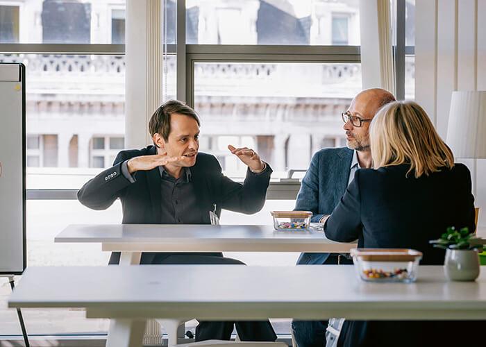 Björn Theis im Gespräch