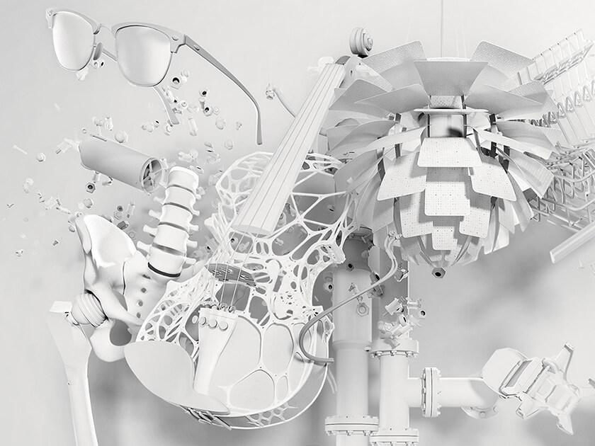 Gegenstände aus 3D-Druck