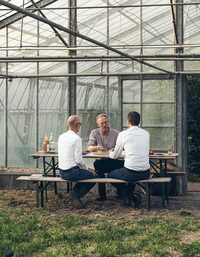Prinz zu Löwenstein im Gespräch mit Christian Baulig und Jörg Wagner