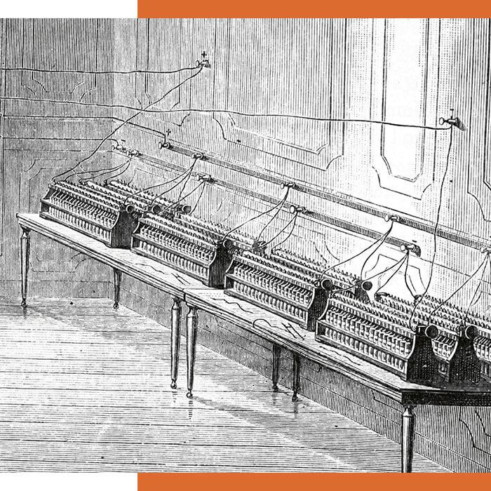 Erste Bei Batterien, 1850