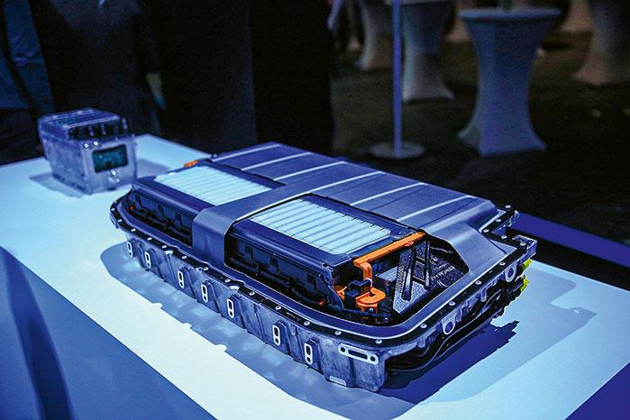 Hybridbatterie für Autos