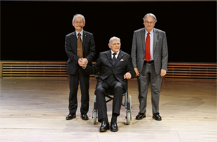 Akira Yoshino, John Goodenough, Stanley Whittingham, Nobelpreisträger der Chemie